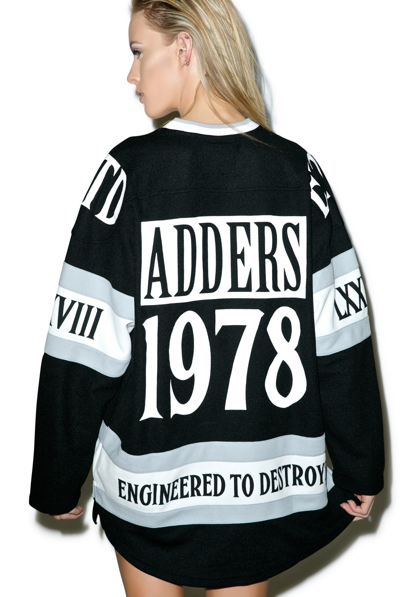 Mishka Lamour Supreme Death Adder Hockey Jersey