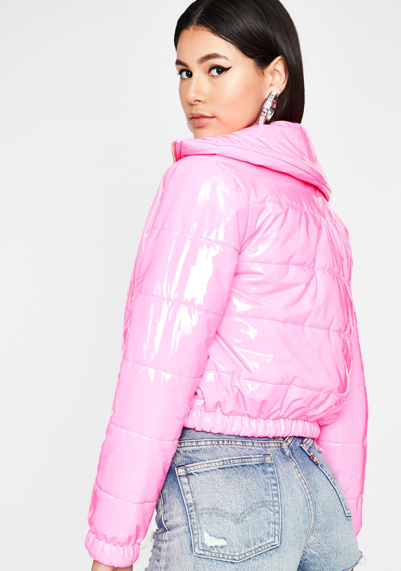 Candy What's Really Good Puffer Jacket