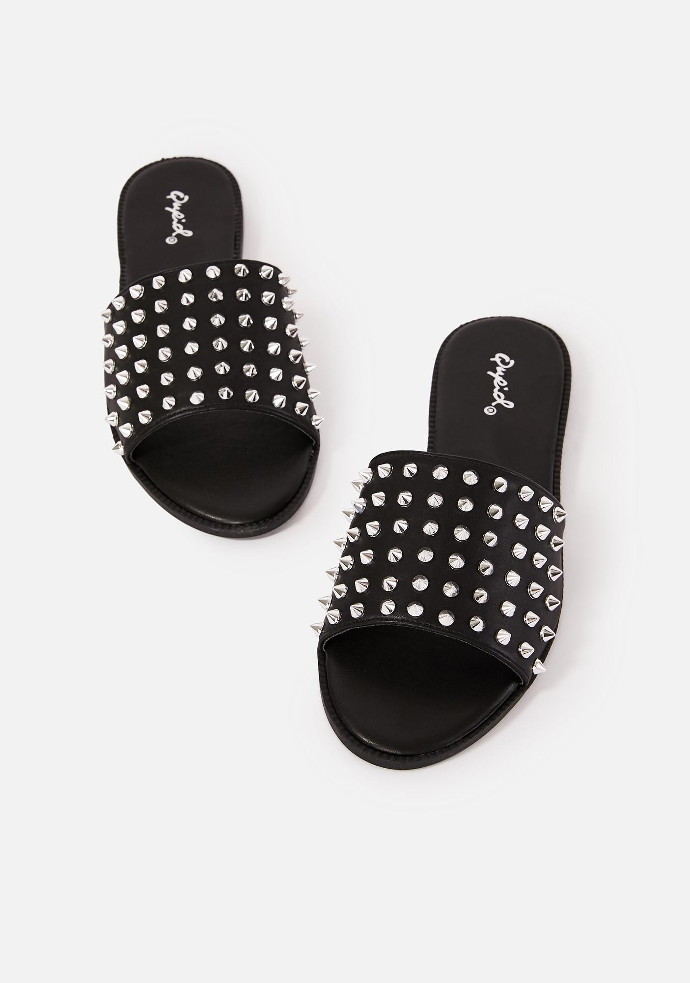 Watch Your Step Spiked Slides