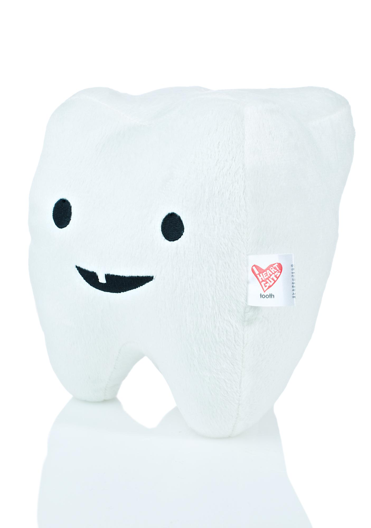 I Heart Guts Tooth Plushie