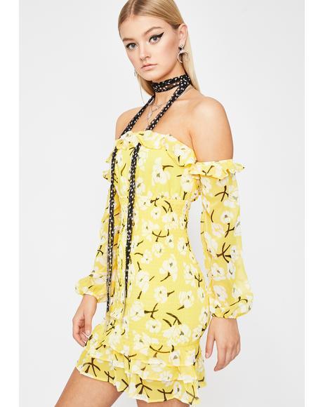 Sunny Fleur Fantasy Mini Dress