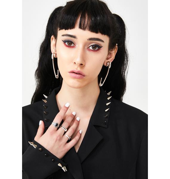 Pinned Down Ear Cuffs
