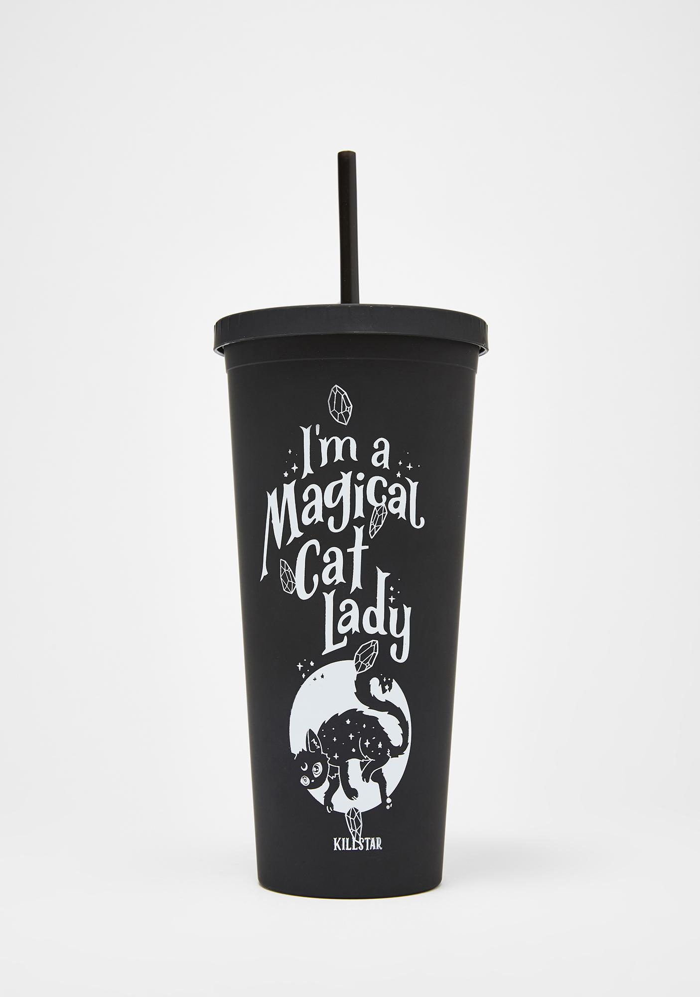Killstar Cat Lady Cold Brew Cup