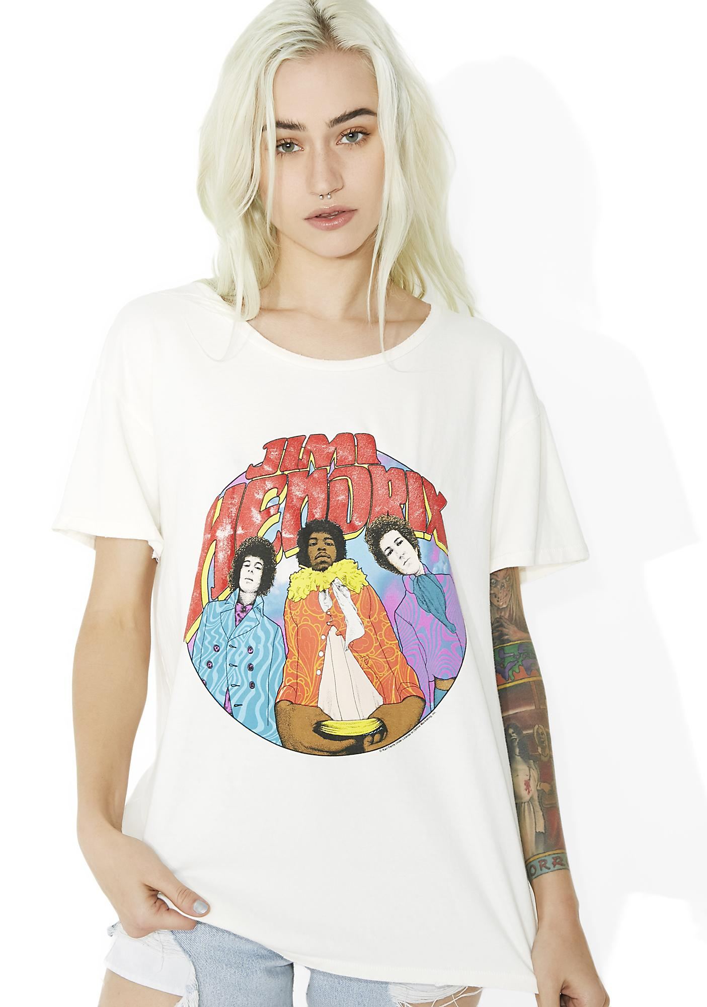 Junk Food Clothing Jimi Hendrix Tee