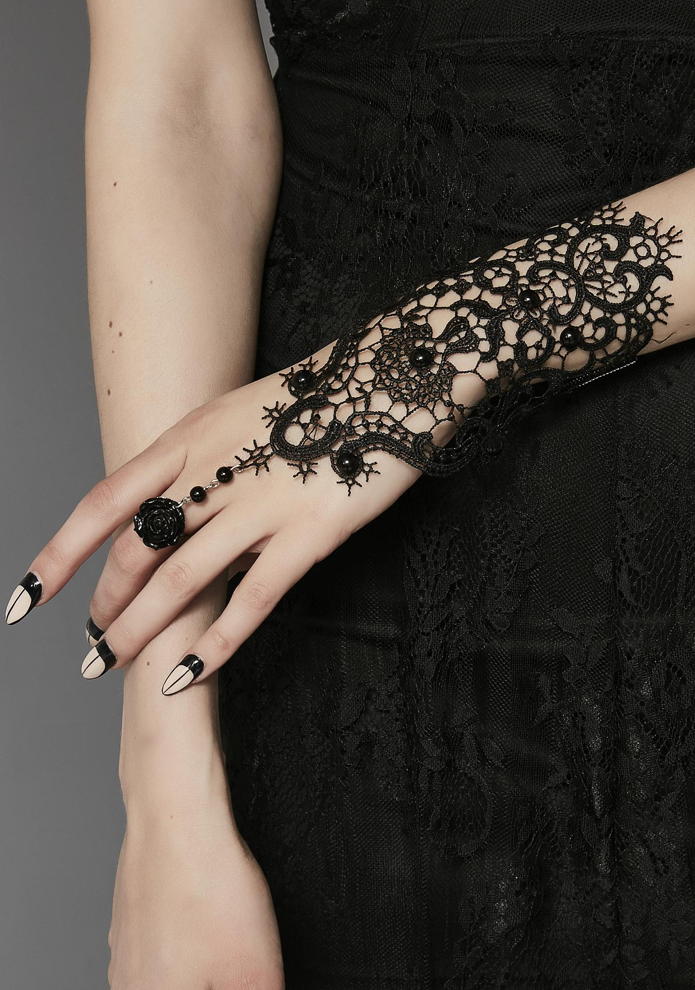 Wrapped In Lies Lace Glove