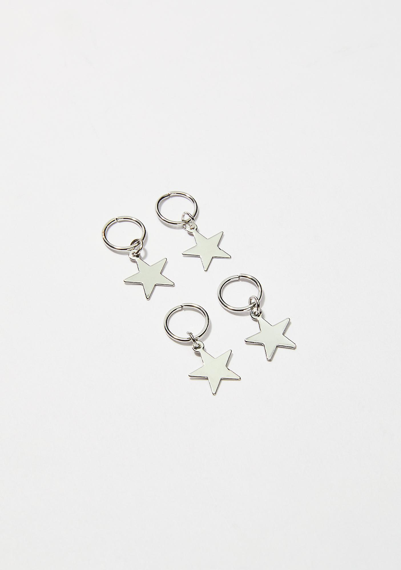 Fallen Star Hair Charms