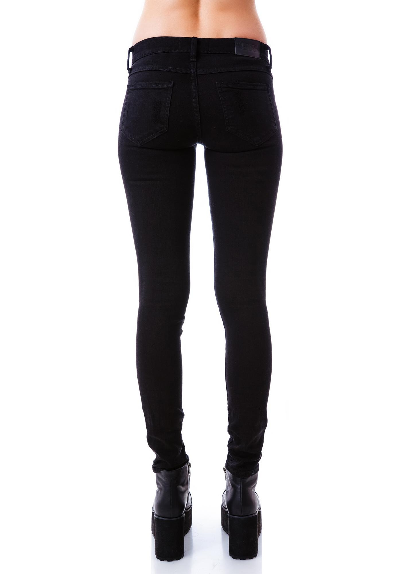 Wildfox Couture Black Sand Marianne Jeans