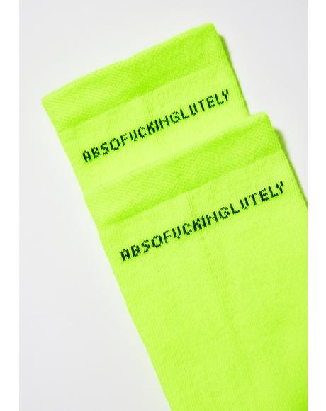 Abso-Fucking-Lutely Socks