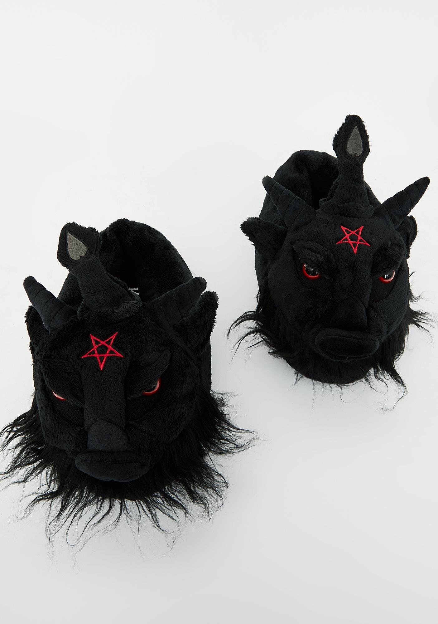 Killstar Dark Lord Slippers