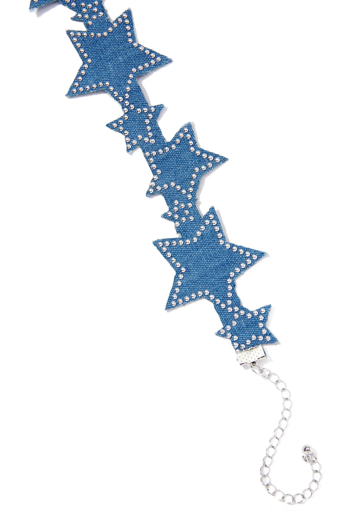 North Star Studded Choker