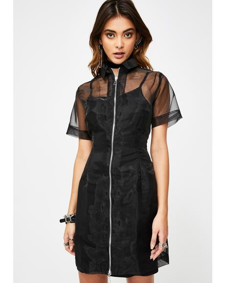 Hacker Organza Dress