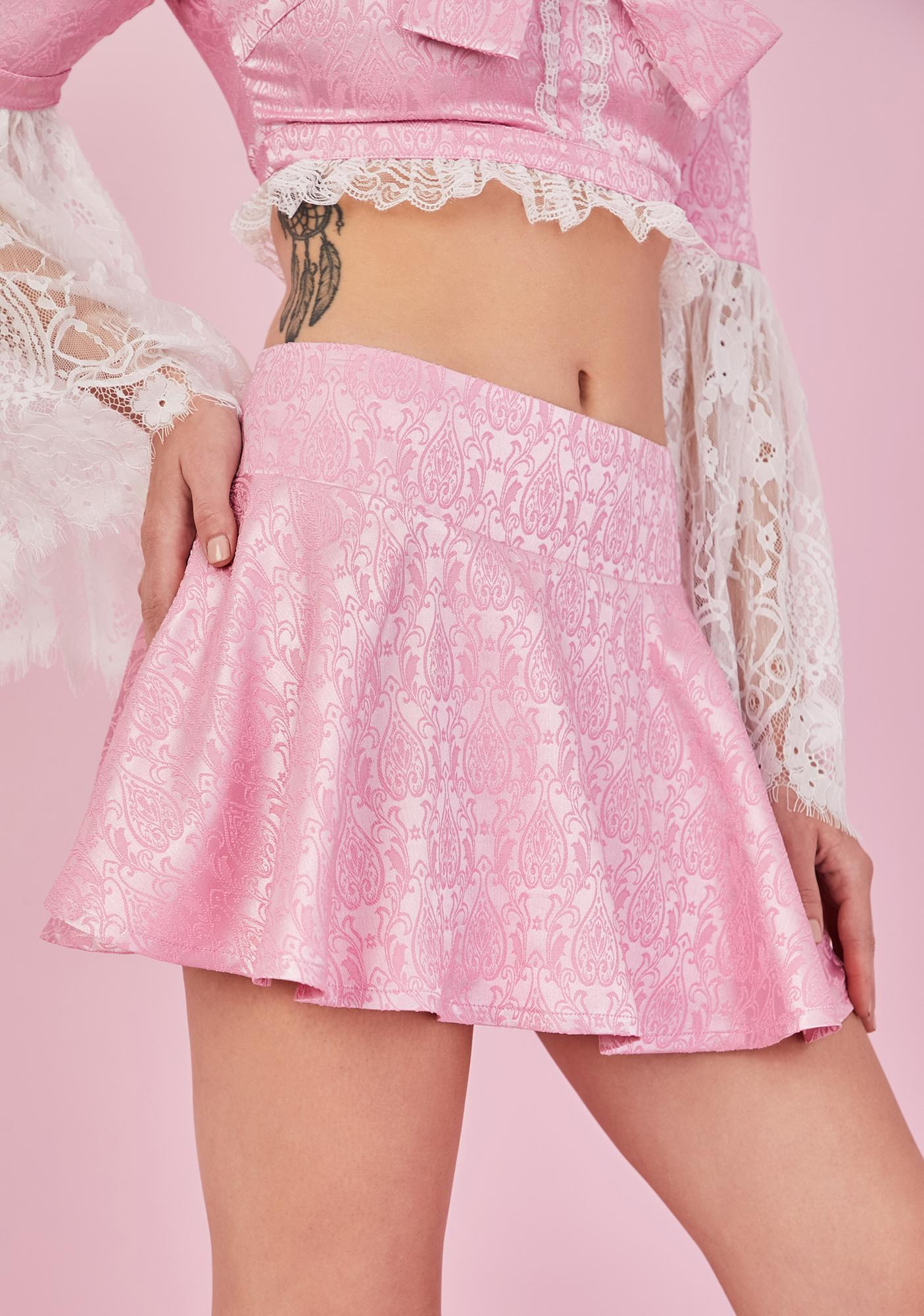 Sugar Thrillz Princess Perfection Tapestry Skirt