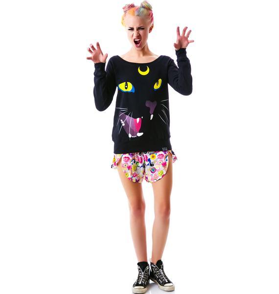 Killstar Luna Slouchy Sweatshirt