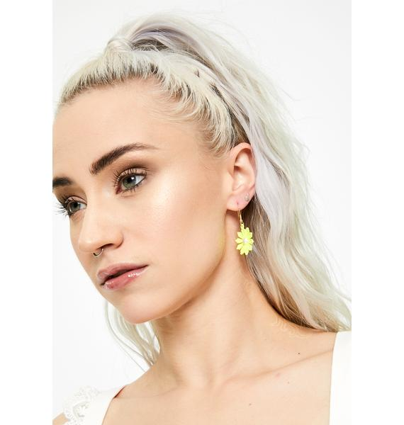Pixie Land Flower Earrings