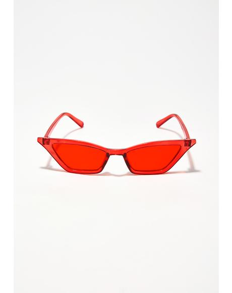Crystal Fiyaa Barbs Sunglasses