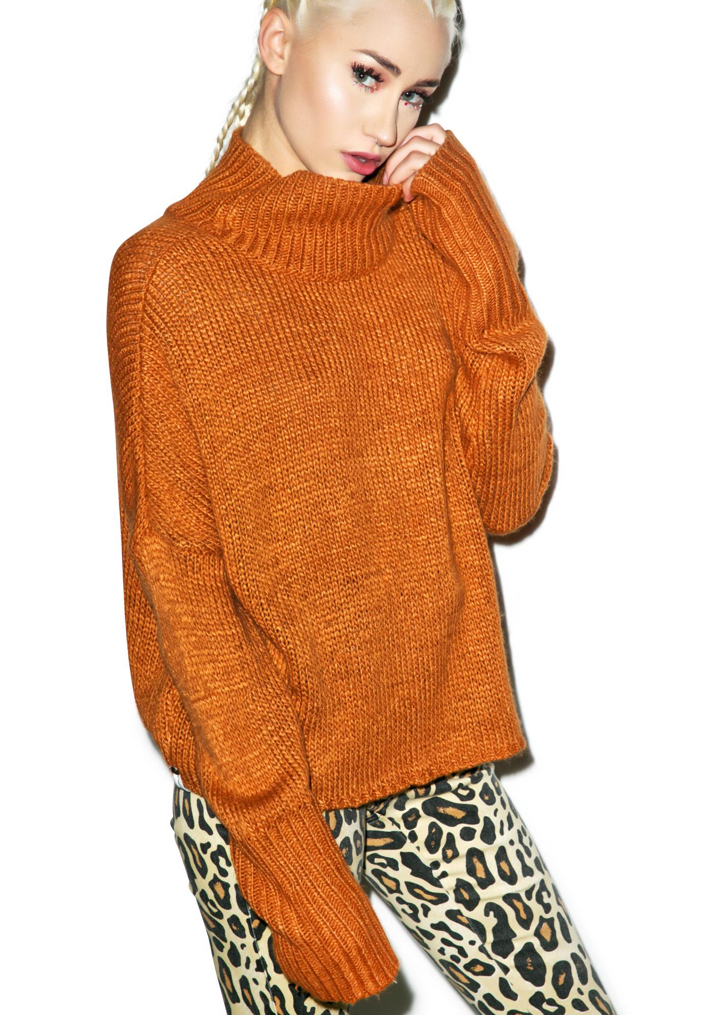 One Teaspoon Le Creme Knit Sweater