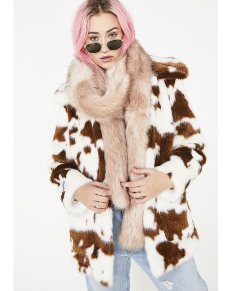 Foxy Mama Fur Scarf