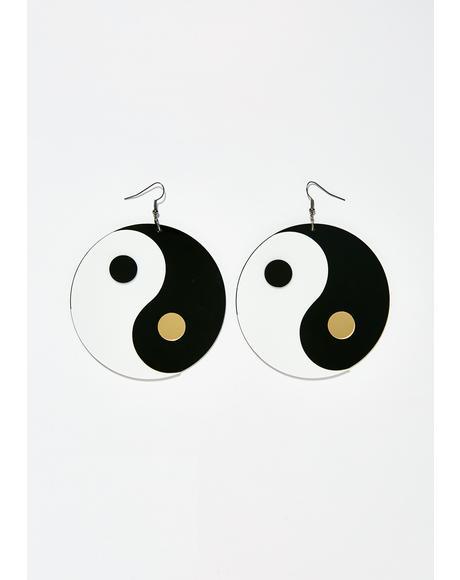 Yin To My Yang Earrings