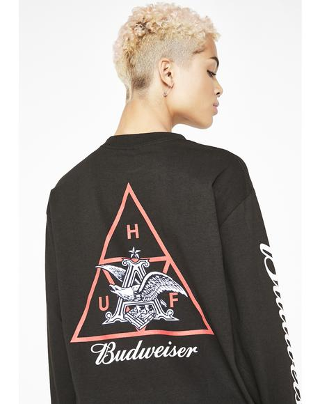 x Budweiser Triple Triangle Tee