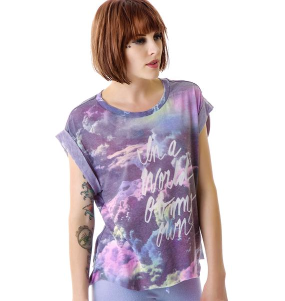Wildfox Couture My Own World Jagged Edge