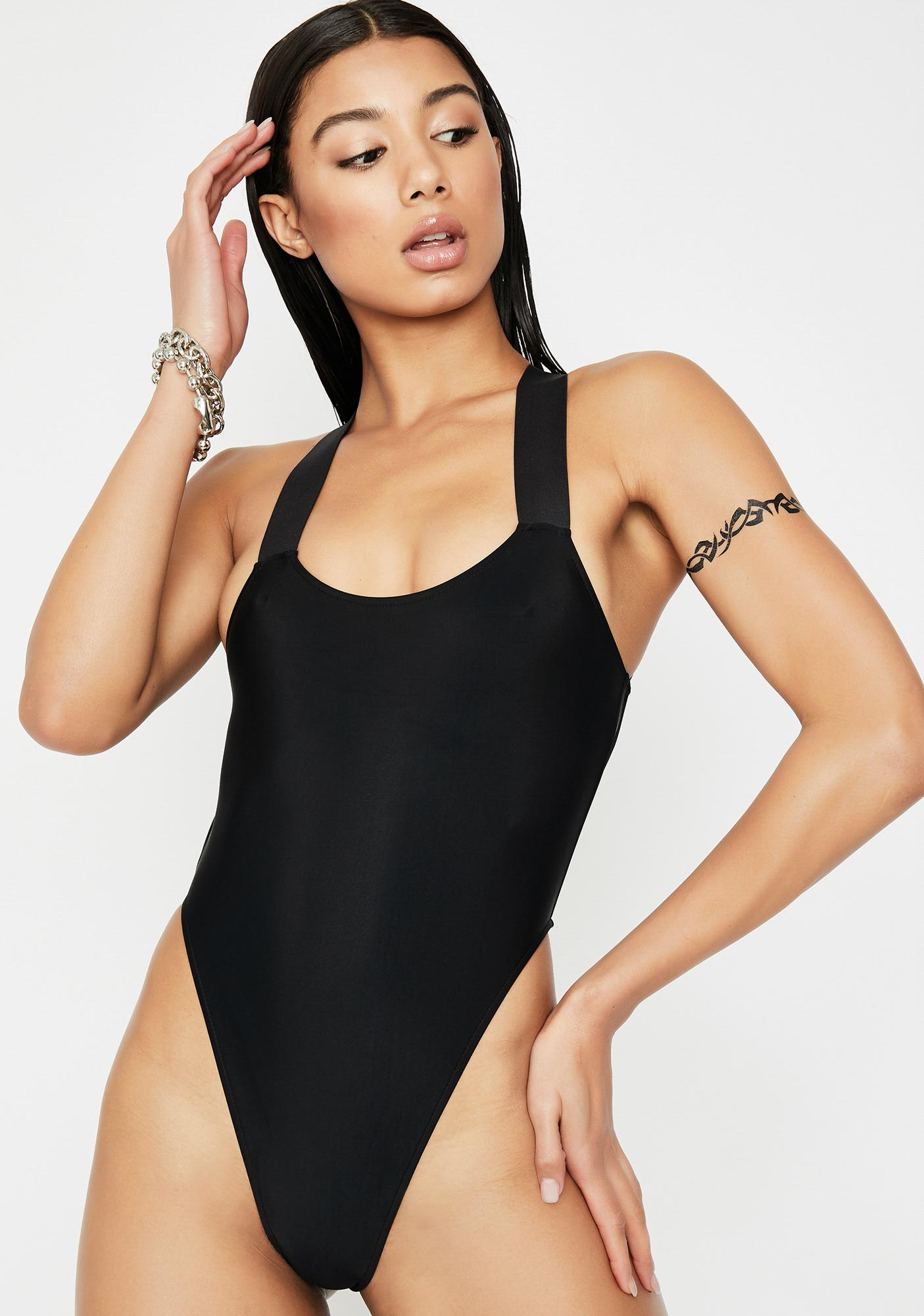 Current Mood Heat Crosser One Piece Swimsuit