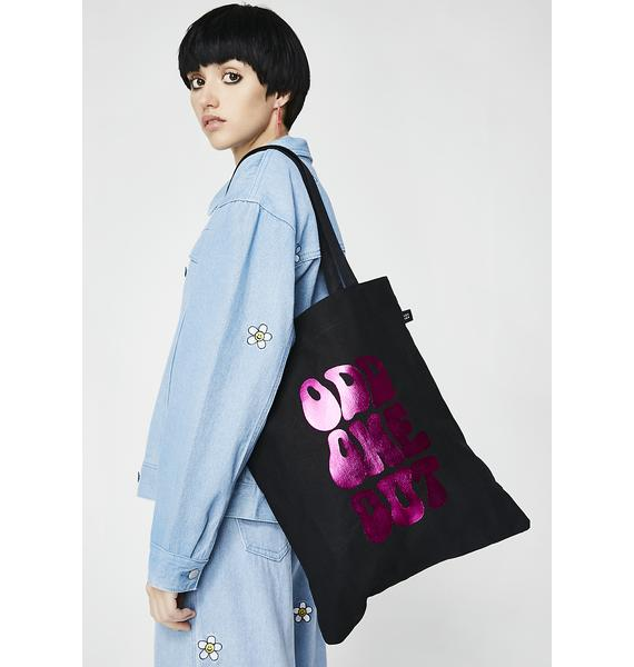 Lazy Oaf Odd One Out Tote Bag