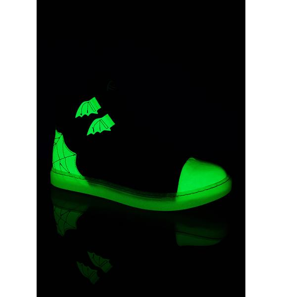 Strange Cvlt Chelsea Glow In The Dark Sneakers