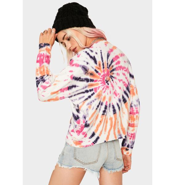 Blank NYC Axis Bold As Love Tie Dye Sweater