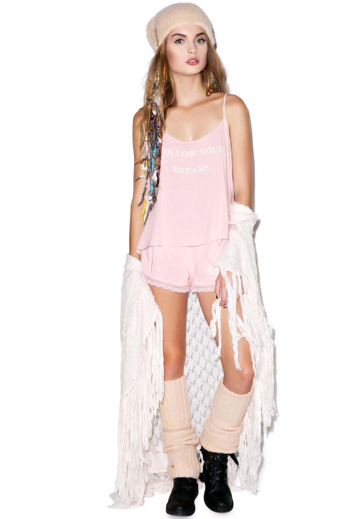 Wildfox Couture Follow Your Dreams Cami Sleep Set