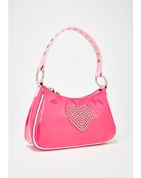 Bling Breakup Rhinestone Purse
