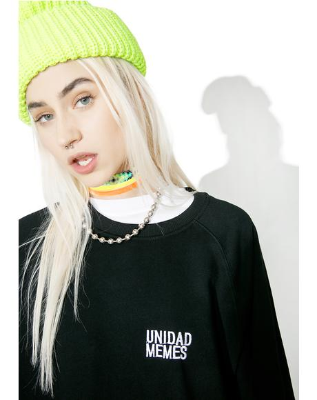 Unidad Memes Sweater