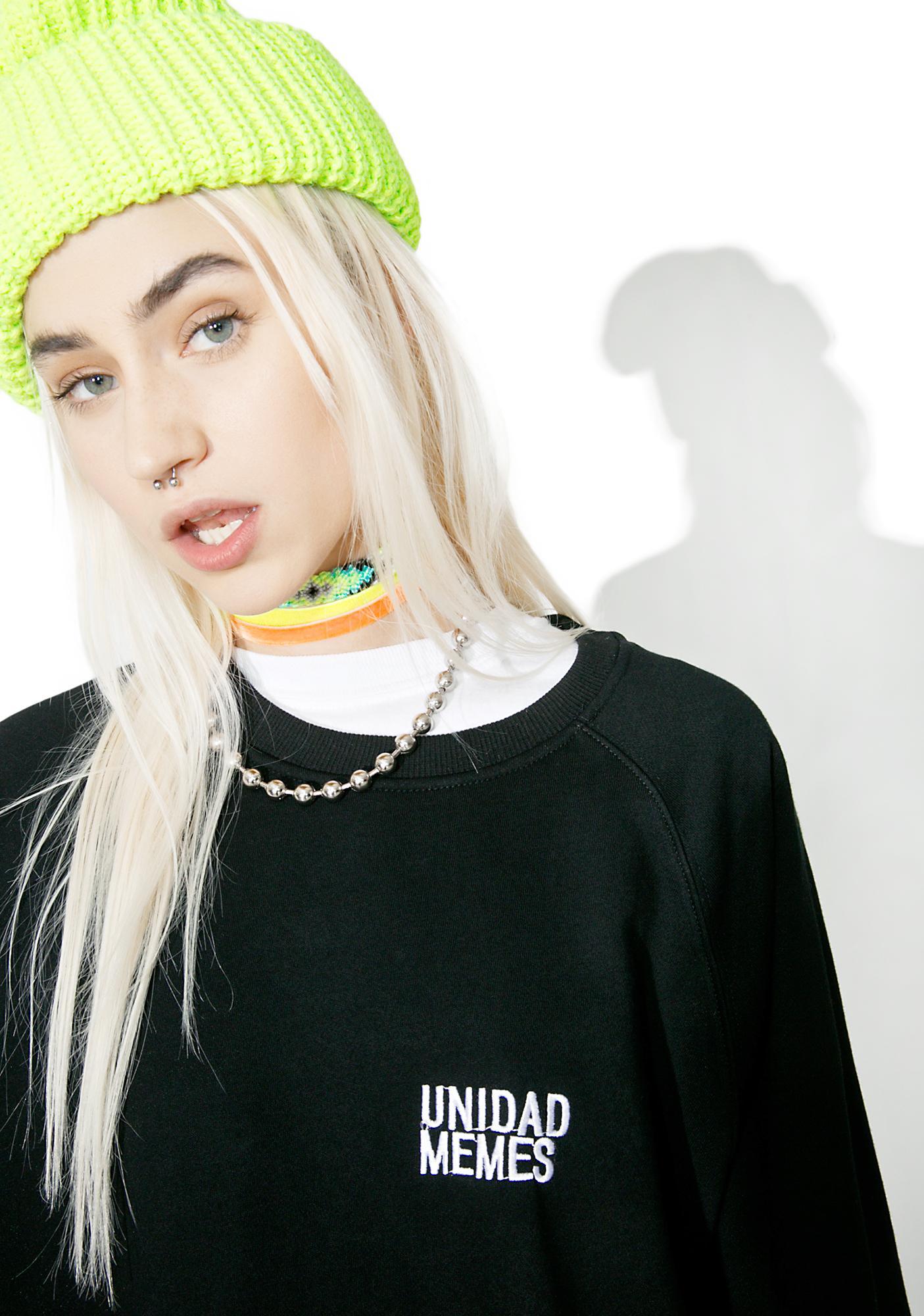 Vetememes Unidad Memes Sweater