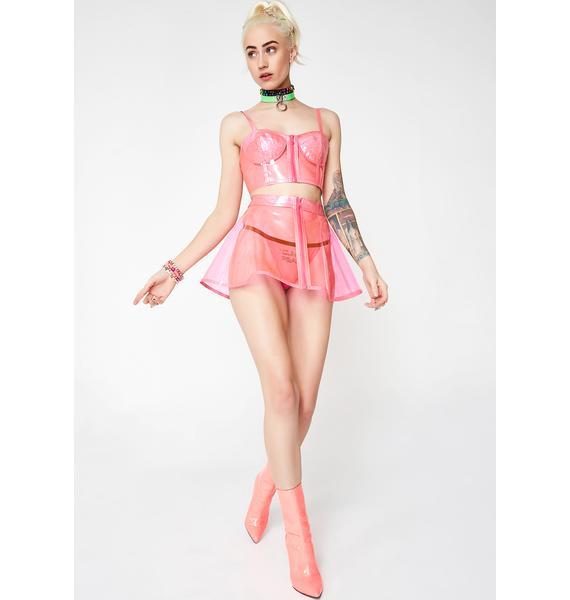Sugar Thrillz Cosmic Princess Glitter Skirt