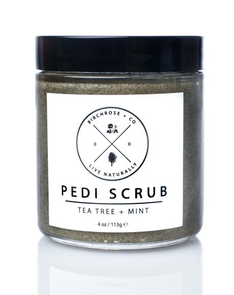 Tea Tree + Mint Pedi Scrub