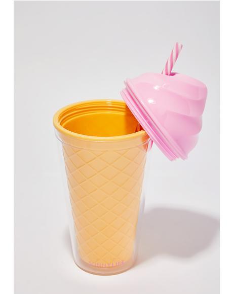 Ice Cream Tumbler