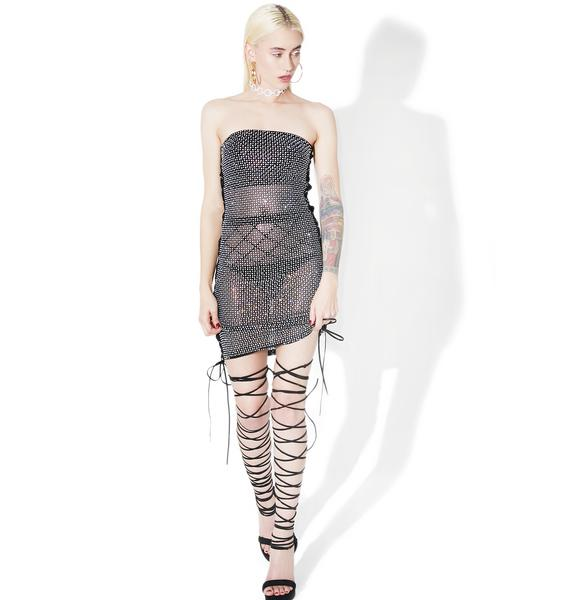 Moonrunner Lace-Up Dress