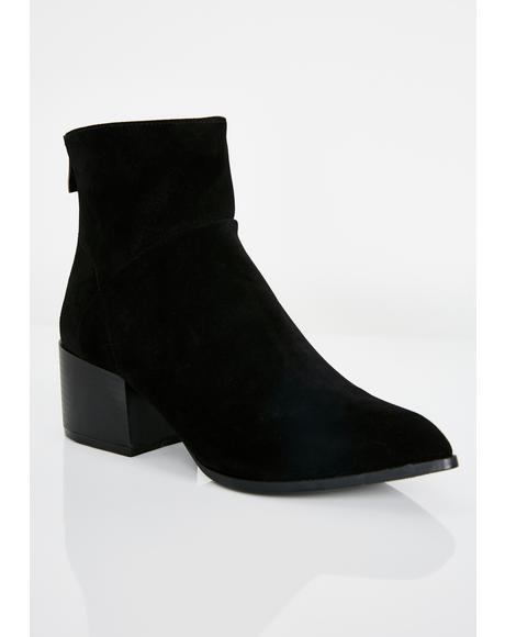 Point Em Out Ankle Booties