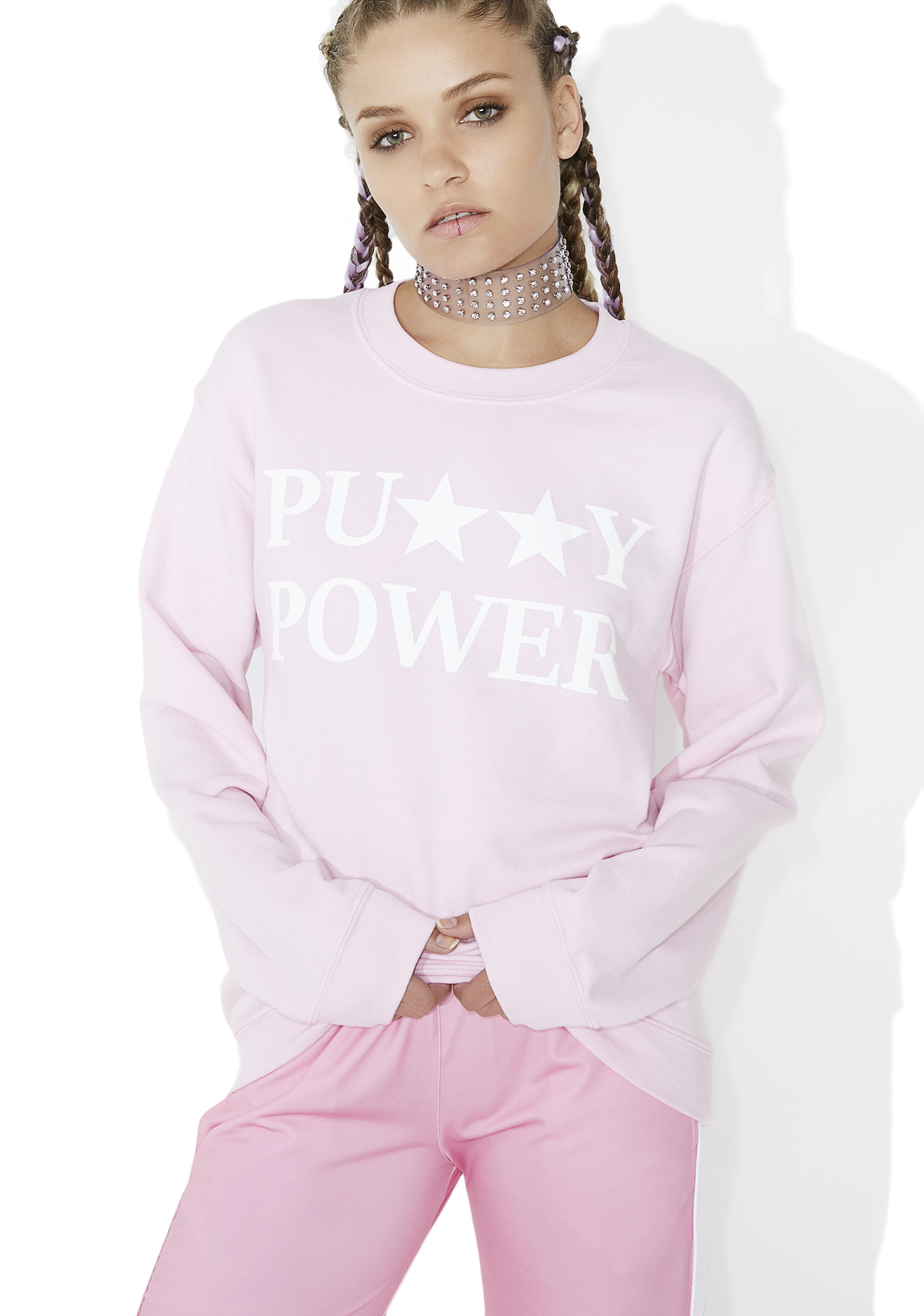 Cross Colours Pu**y Power Sweatshirt