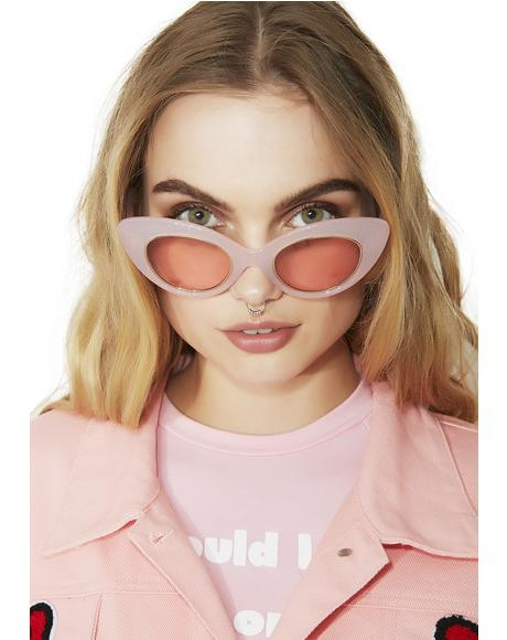 The Wild Gift Milky Sunglasses