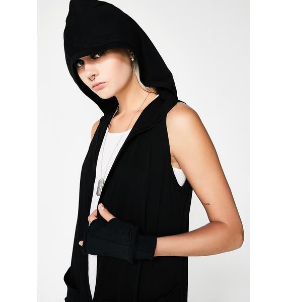 MNML Raphael Hooded Wrap Vest