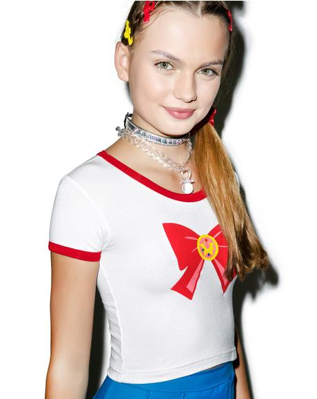 Sailor Scout Ringer Tee