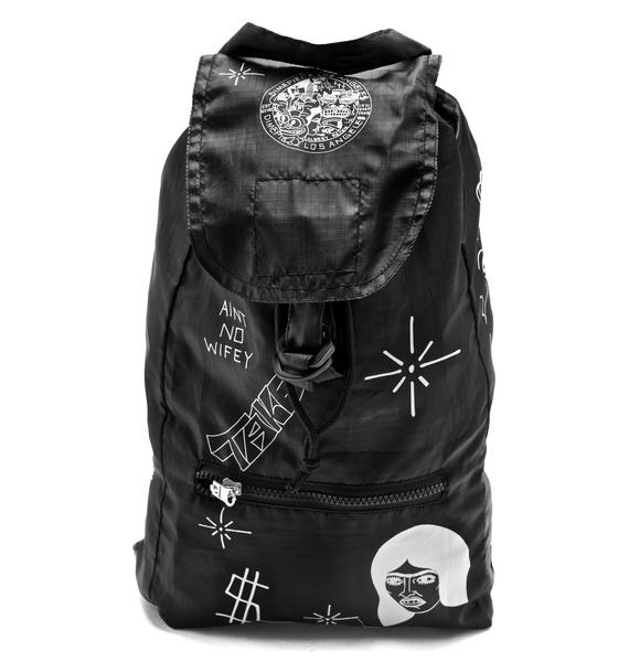 Dimepiece Ain't No Wifey Convertible Backpack