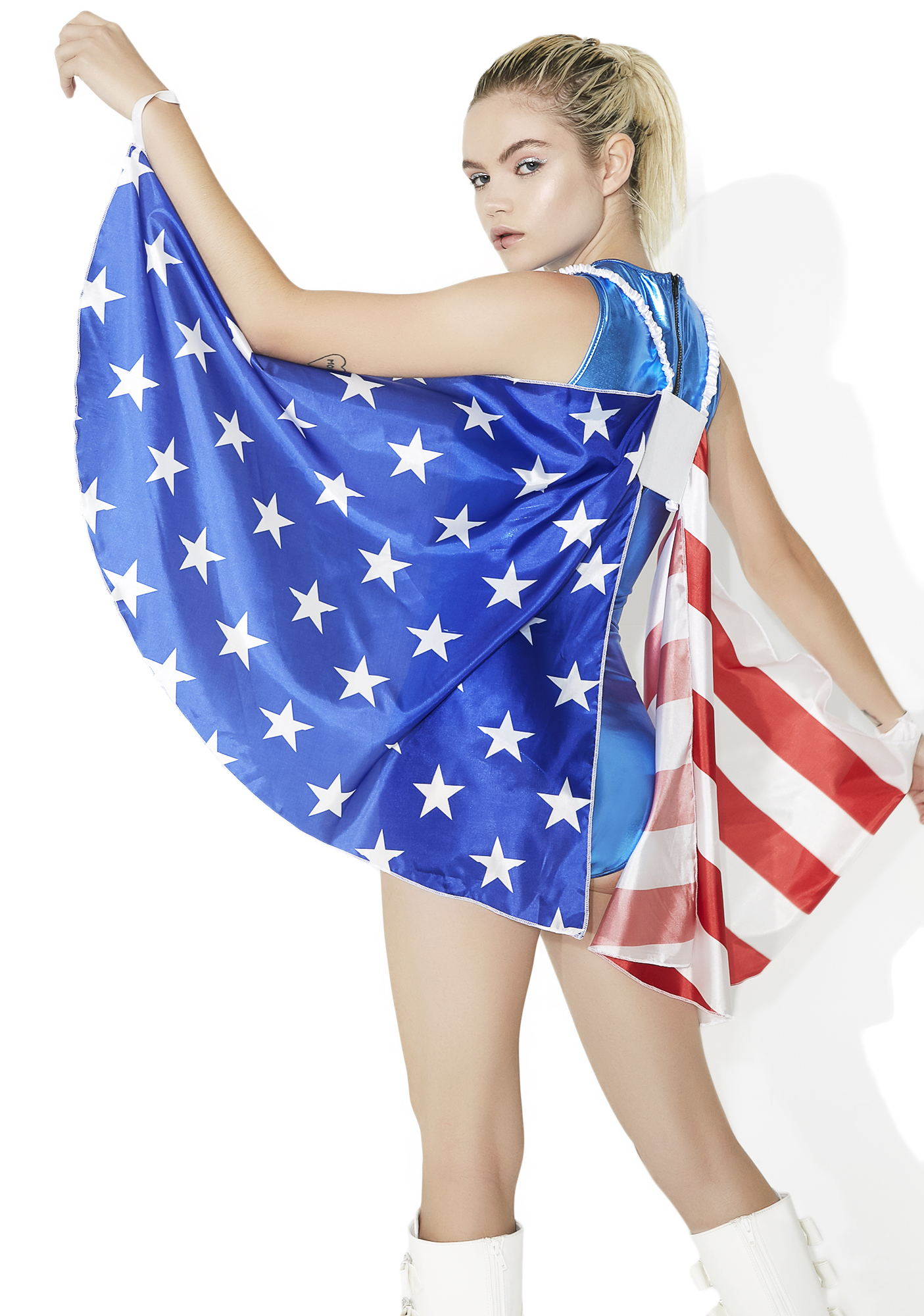 American Flag Wing Cape