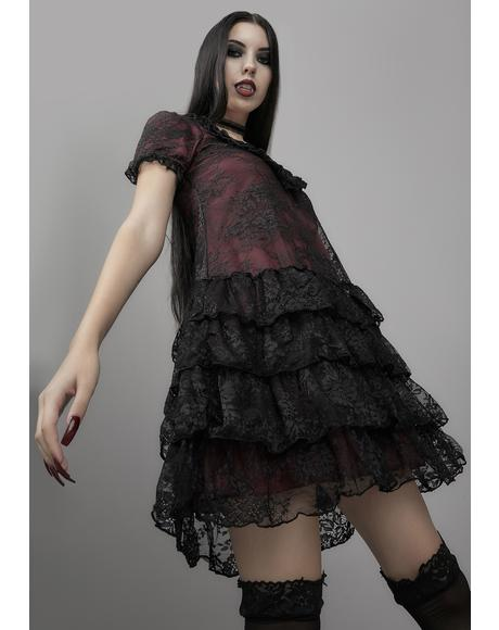 Heavy In Your Arms Babydoll Dress