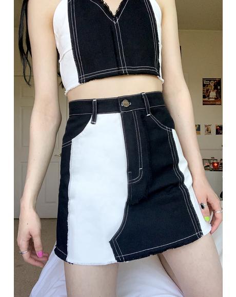 Elisha Denim Skirt