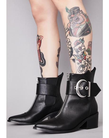 Wicked Lunatic Ankle Boots
