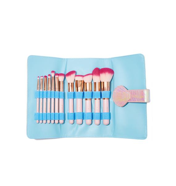 Spectrum Collections Pearl Siren Brush Set And Roll