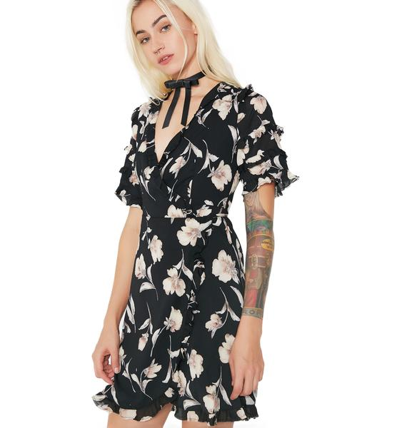 Novalee Floral Wrap Dress