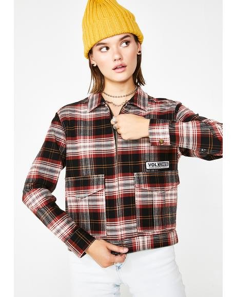 Plaid Frochickie Jacket
