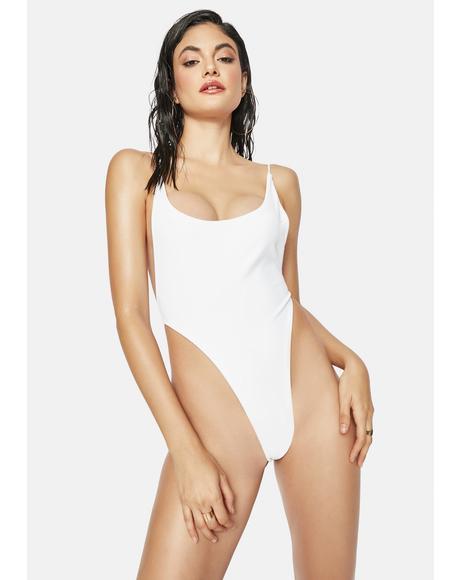 Yoli White One-Piece Swimsuit
